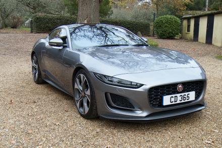 Jaguar F-type Coupe 5.0 P450 S/C V8 R-Dynamic Black 2dr Auto AWD